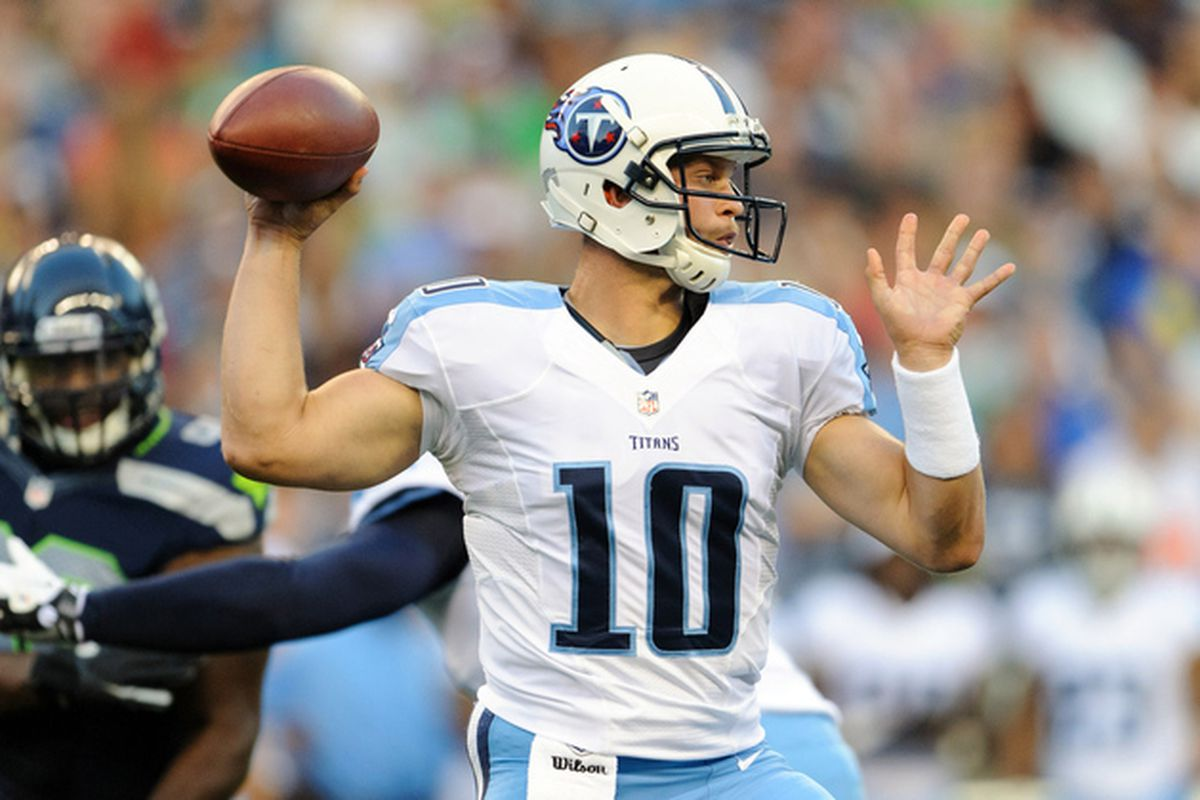 Jake made his successful return to Seatlle last night when the Titans visited the Seattle Ducks.  Seriously, what is with those uniforms?