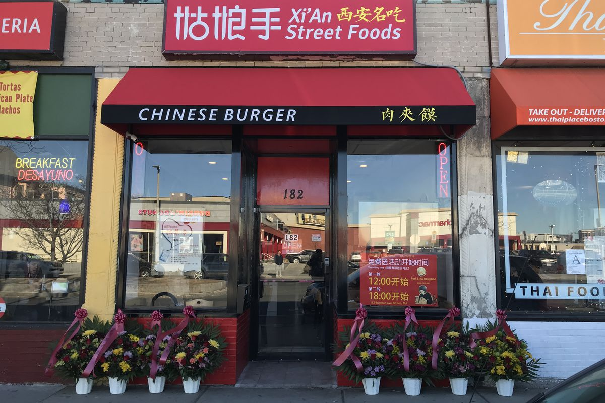 Go Get Chinese Burgers At Xi An Street Foods Today Terrence B Doyle For Eater