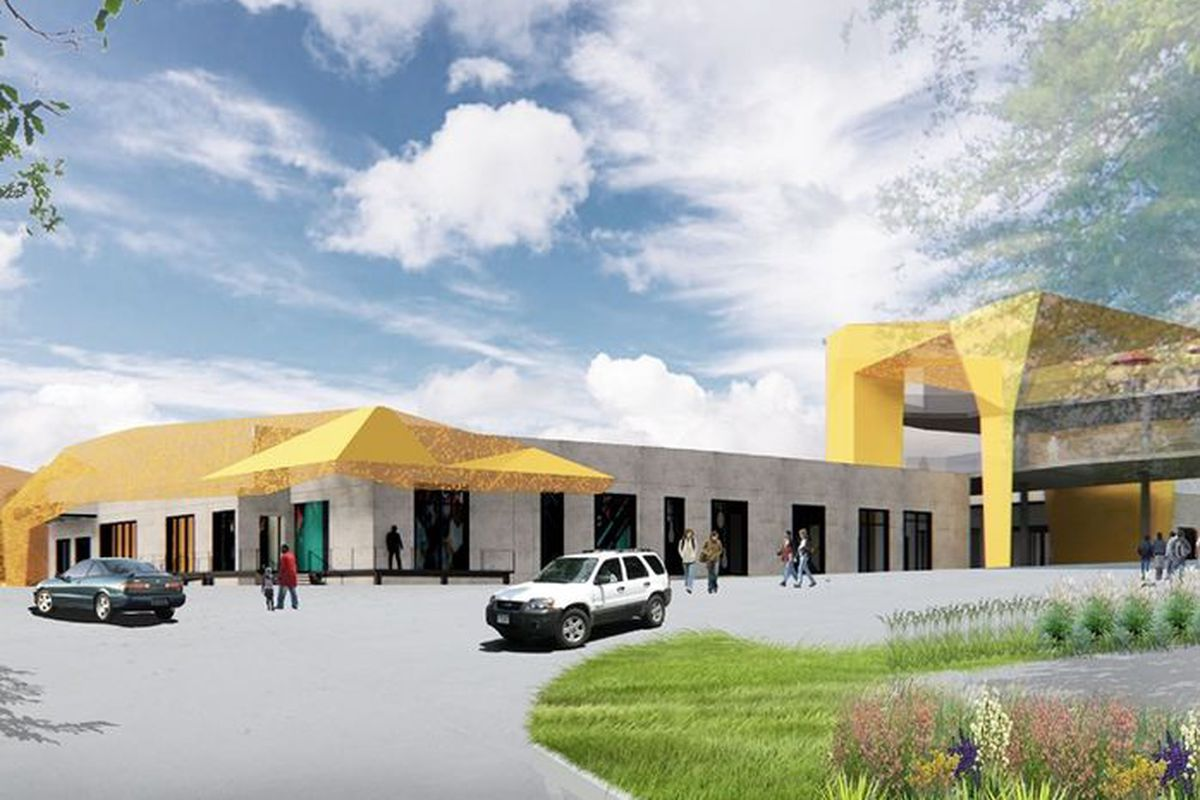 a rendering of the proposed project