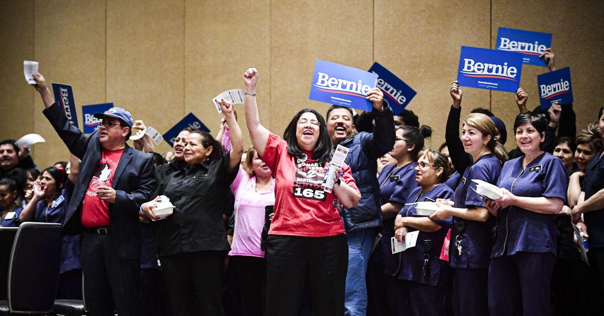 Nevada caucus entrance polls look good for Bernie...