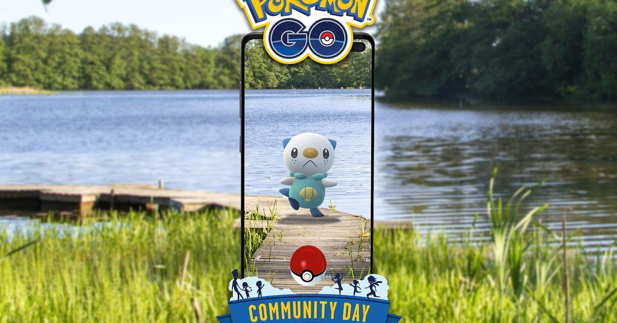Pokémon Go Oshawott Community Day moveset and event guide