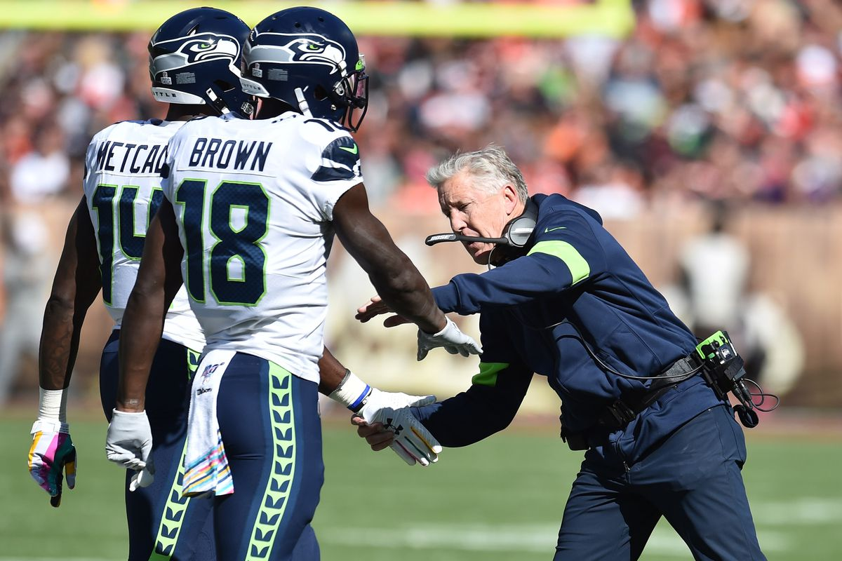 A review of the Seahawks offense against the Browns in Week 6