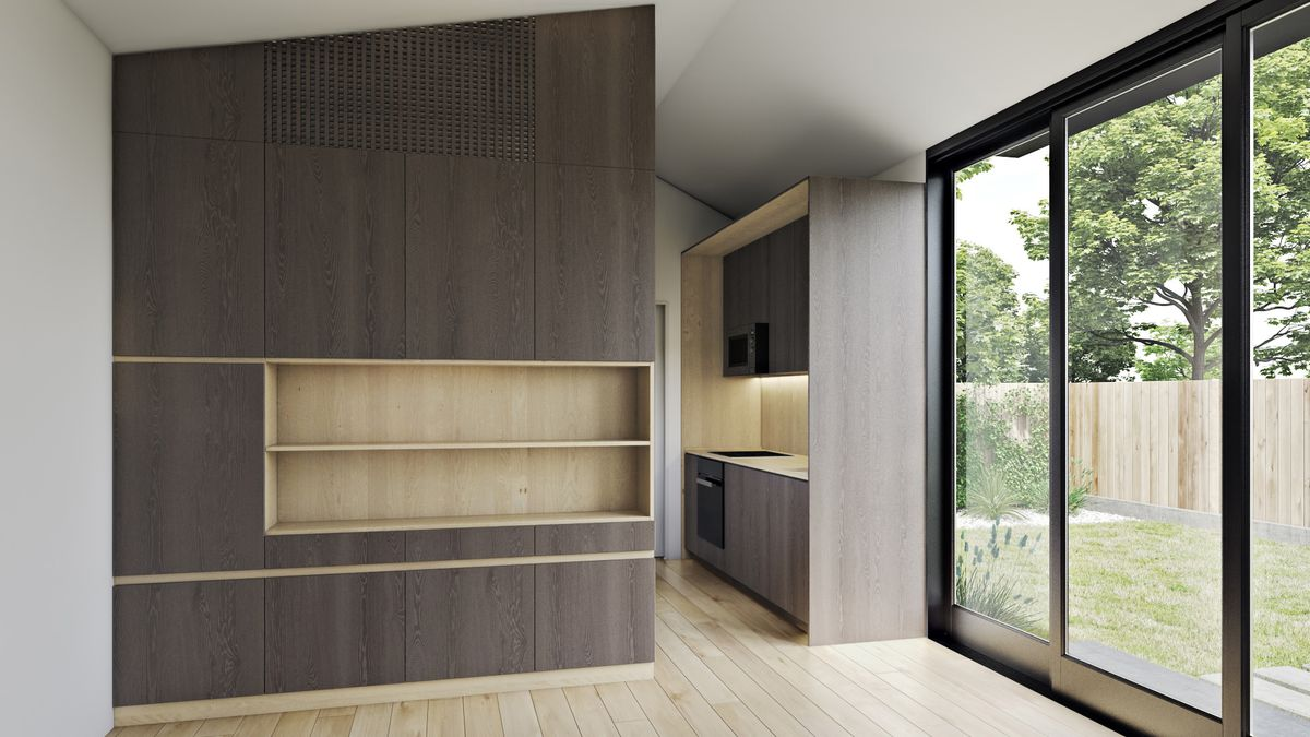Prefab adu from livinghomes unveiled for under 100k curbed for Prefab granny unit california