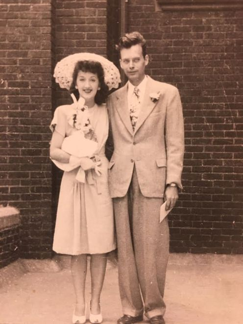 Bill and Virginia Davis on their wedding day in 1946. They were married 63 years until her death. | Provided photo