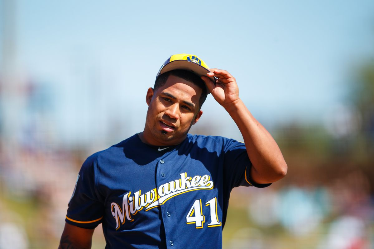 MLB: Spring Training-Milwaukee Brewers at Los Angeles Dodgers