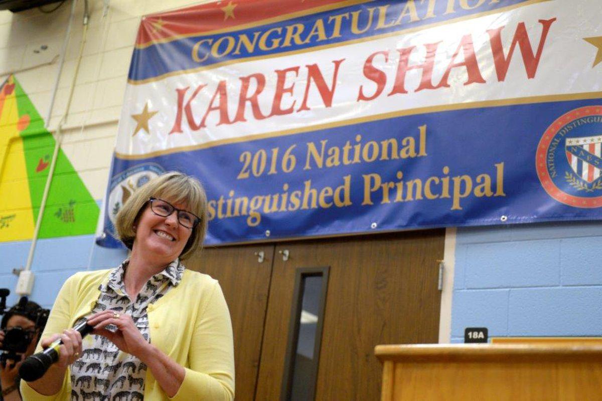 Karen Shaw, principal of Columbia Elementary School, in Colorado Springs District 11.