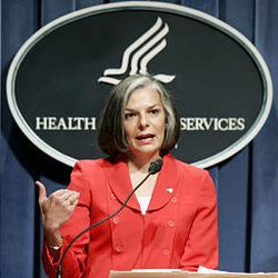 CDC Director Julie Gerberding calls for equitable distribution of flu vaccine and condemns those who are price gouging.