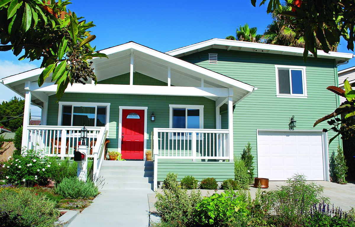 Curb Appeal After: 1940s Craftsman Home In La Mesa, California