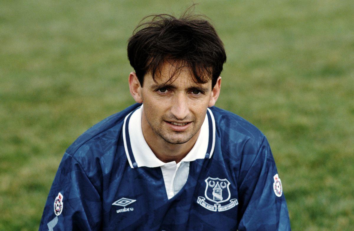 Pat Nevin Everton 1991