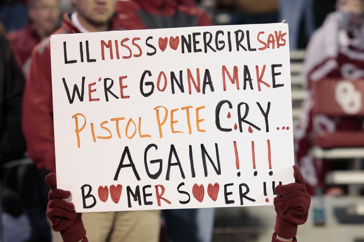 Oklahoma State Vs Oklahoma Bedlam As Told By Sooner Fans