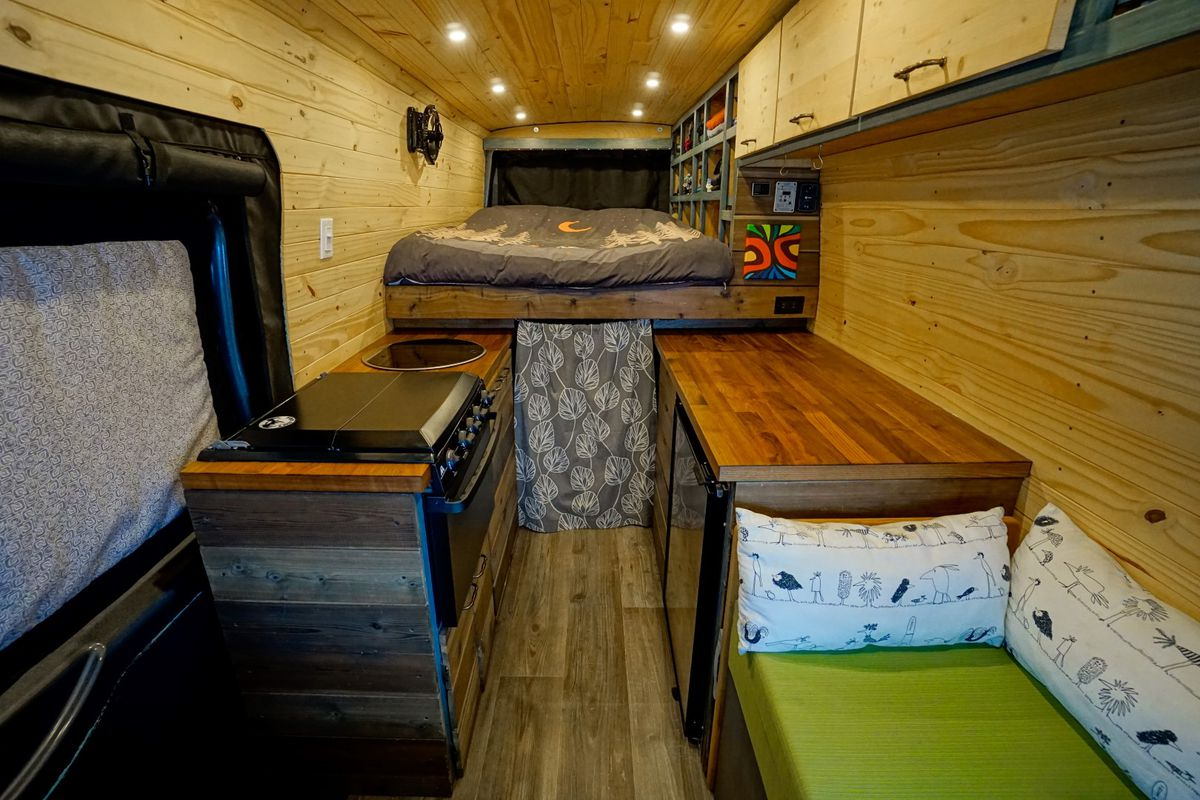 DIY camper van cost just $18K to build - Curbed