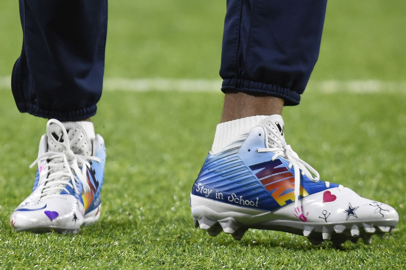 Dozens Of Giants Taking Part In My Cause My Cleats Here Are Some Of Their Stories Big Blue View
