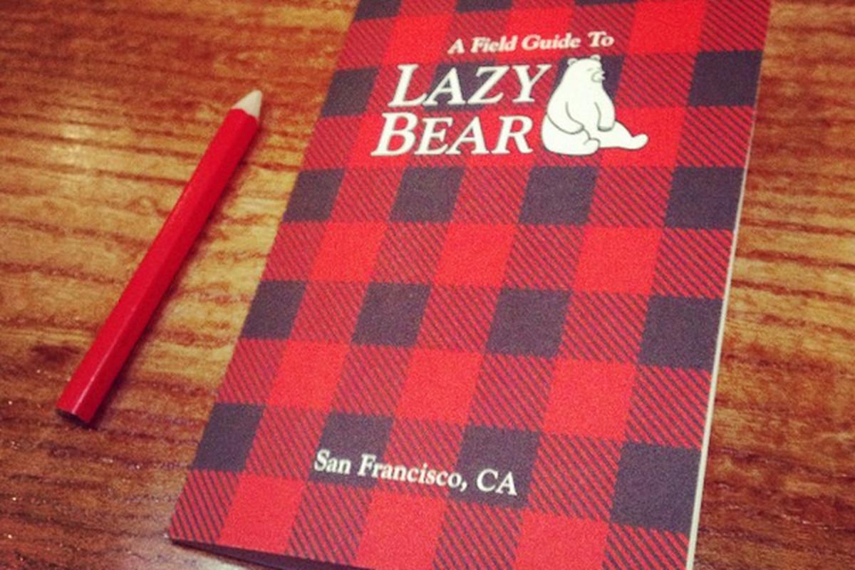 Lazy Bear's Menu