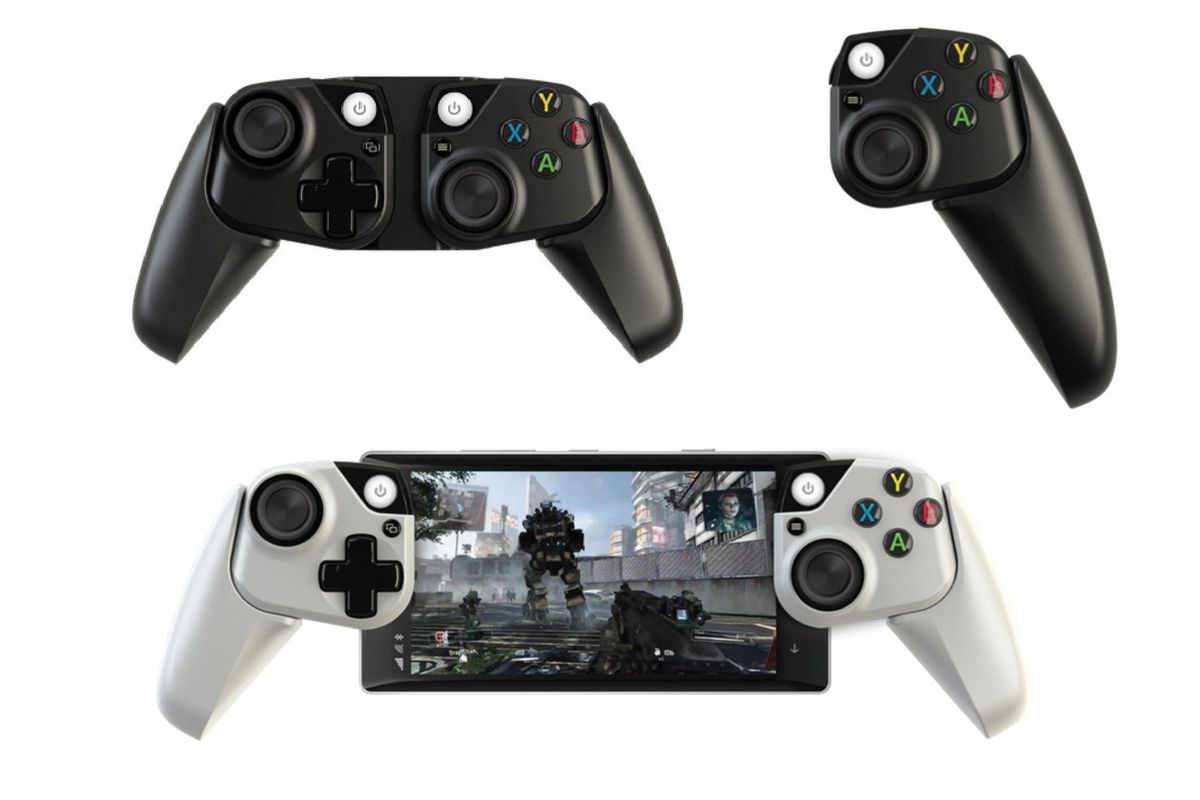 Microsoft's prototype Xbox controllers for phones look ideal for