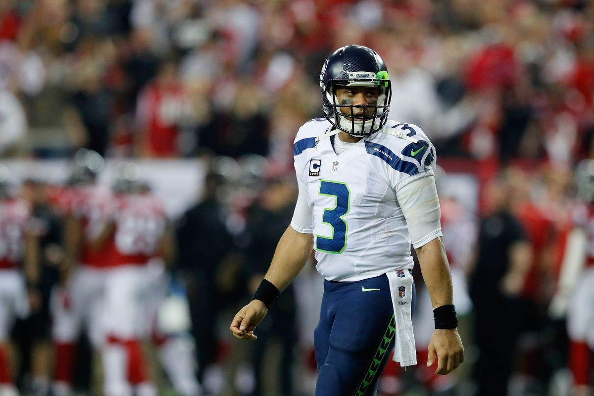 newest c4a41 4d6e2 Russell Wilson says Donald Trump may not last 4 years in the ...