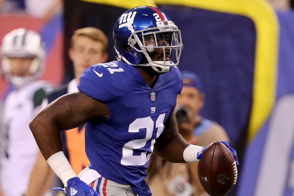 Giants Injury Report Landon Collins Sterling Shepard Not