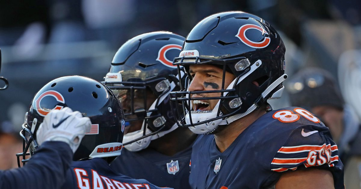 Bears tight end Trey Burton and nose tackle Eddie Goldman are questionable for Broncos game