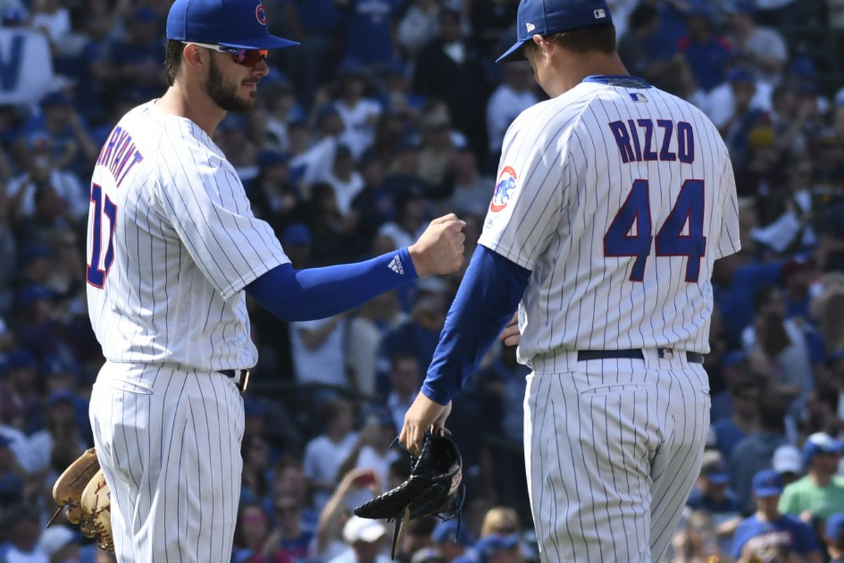 new product 372b8 66cfc Players' Weekend 2018: Kris Bryant, Anthony Rizzo show off ...