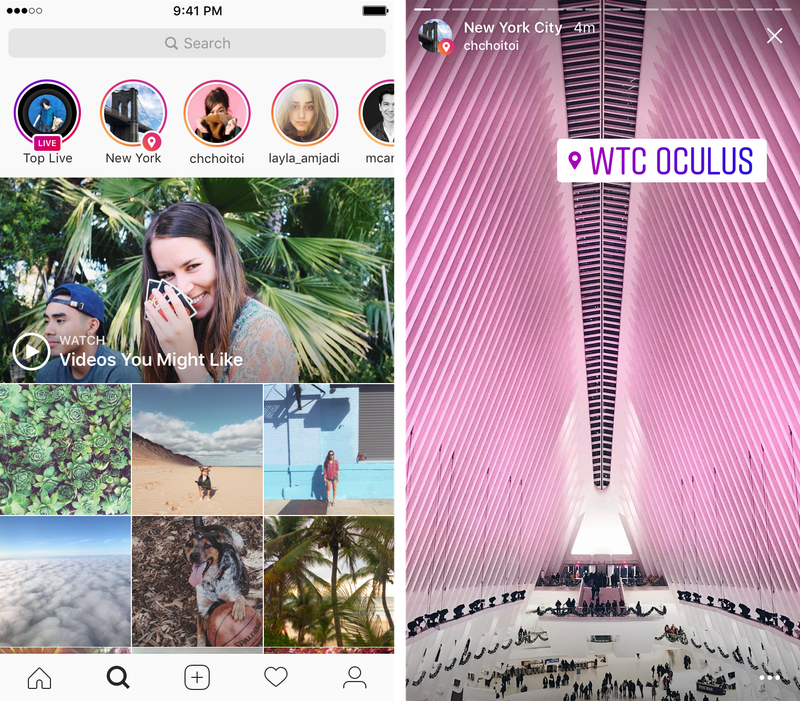 You can now search instagram stories by location and hashtag the instagrams twist on the search is to enable it for hashtags as well as locations search ootd to browse other peoples outfits of the day for example ccuart Image collections