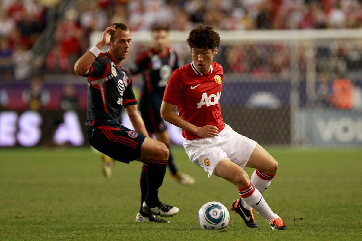 30-year-old Park Ji-sung has signed at contract which will see him stay at Manchester United until at least 2013.
