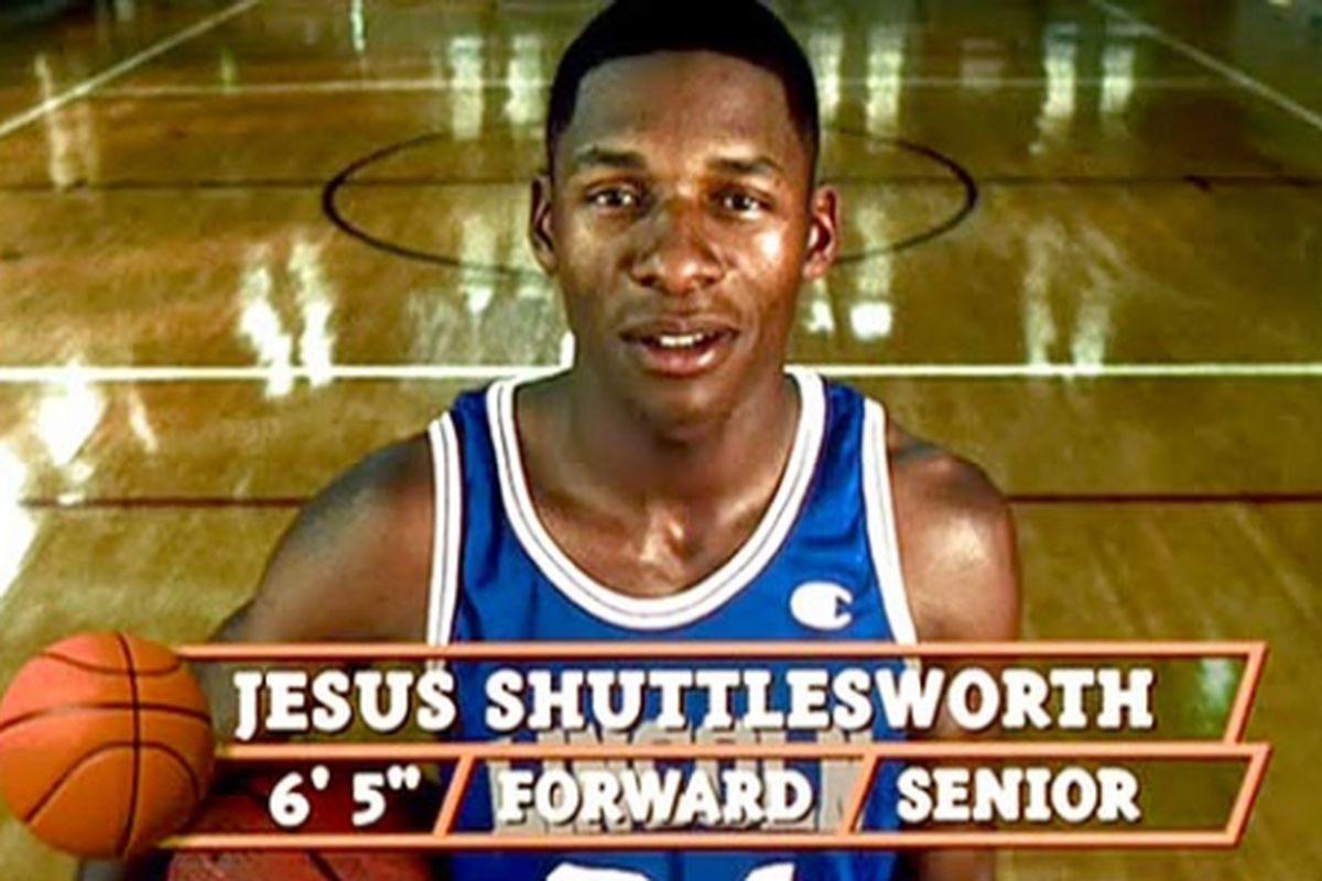 Ray Allen as Jesus Shuttlesworth in He Got Game