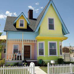 "Homebuilder Blair Bangerter has built an ""Up"" home in Herriman, Utah Monday, Aug. 8, 2011."