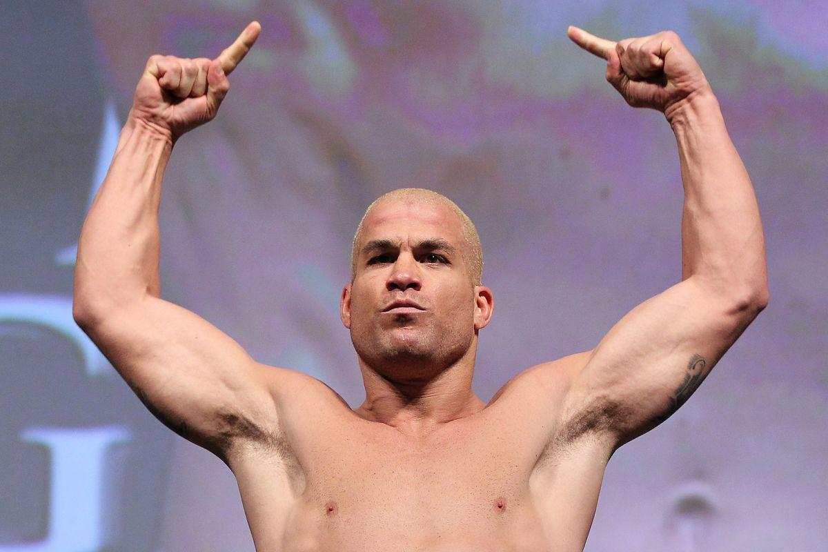 UFC 148 Weigh In