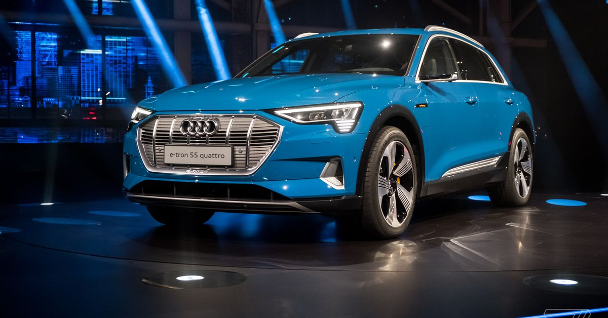 Image result for Audi etron suv