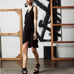 Bow Tie Wrap Dress, $85.00