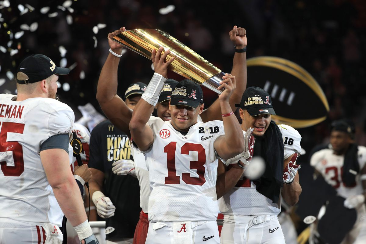 a4dfbd8bd The national title game hero showcased the downfield passing ability we  haven t seen from an Alabama quarterback under Nick Saban