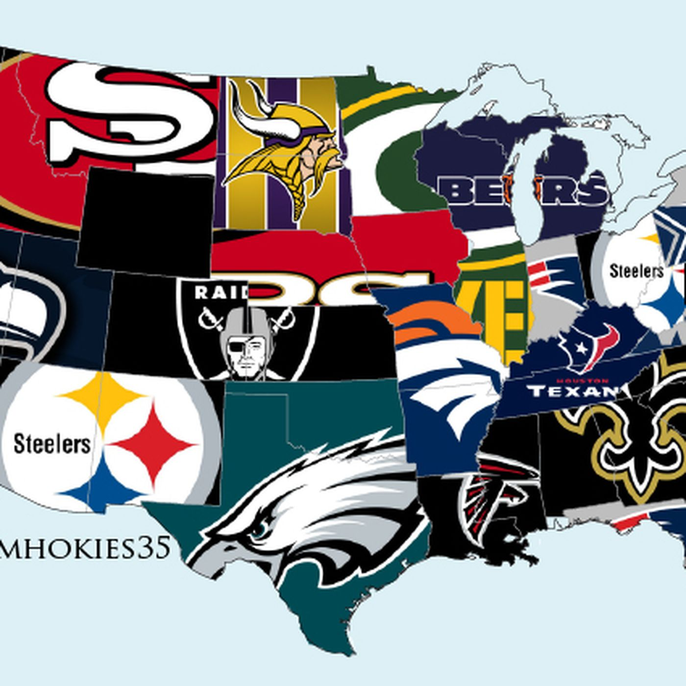 24 maps that explain the NFL - SBNation com