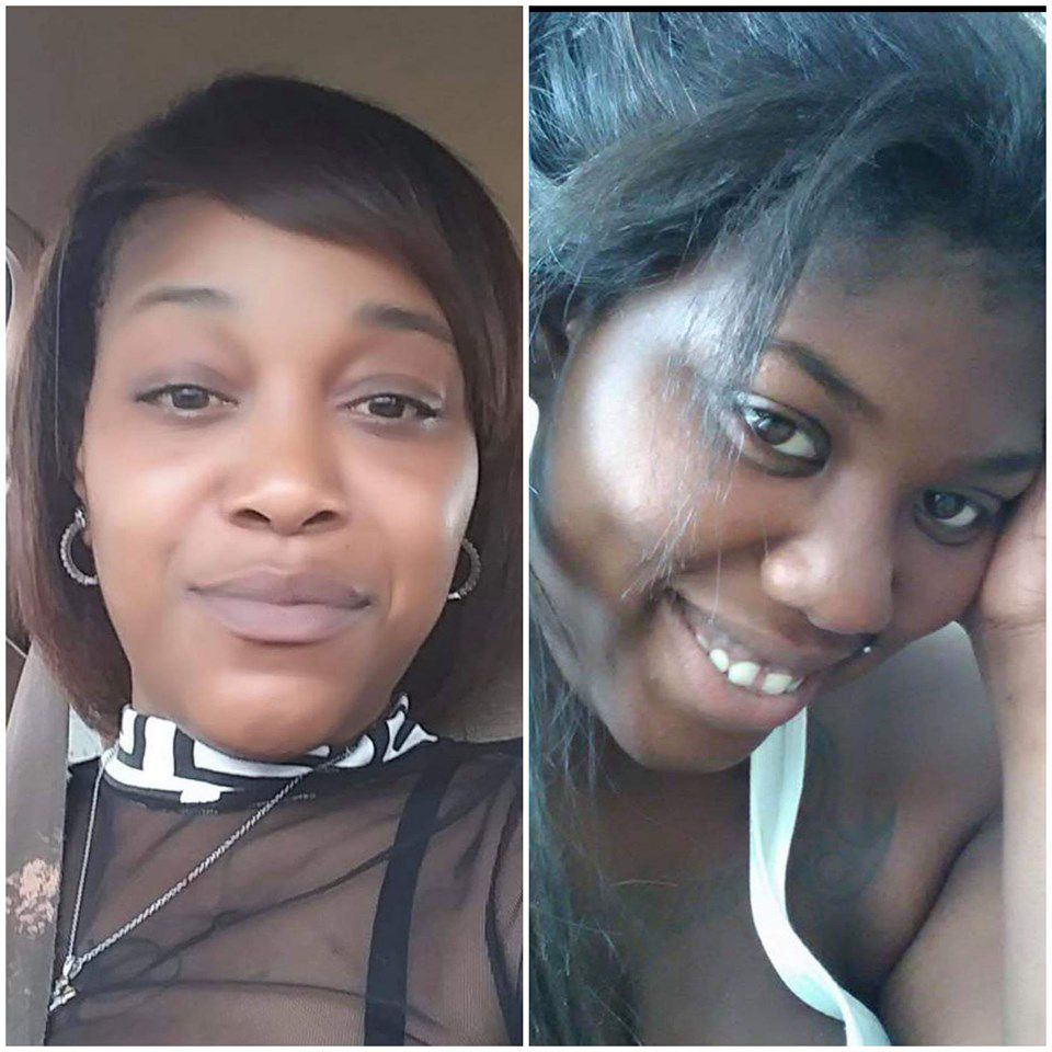 Chantell Grant, 26, (right) and 35-year-old Andrea Stoudemire (left) were fatally shot on July 26, 2019.