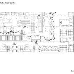 <em>Floorplan for LYFE Preston Center.</em>