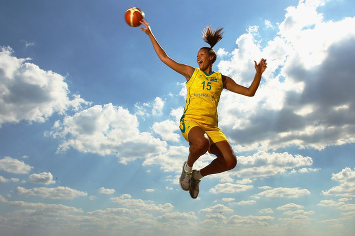 Liz Cambage is ready to repeat in this weekend's WNBL Grand Final before looking towards the 2012 Olympics. (Photo by Quinn Rooney/Getty Images)
