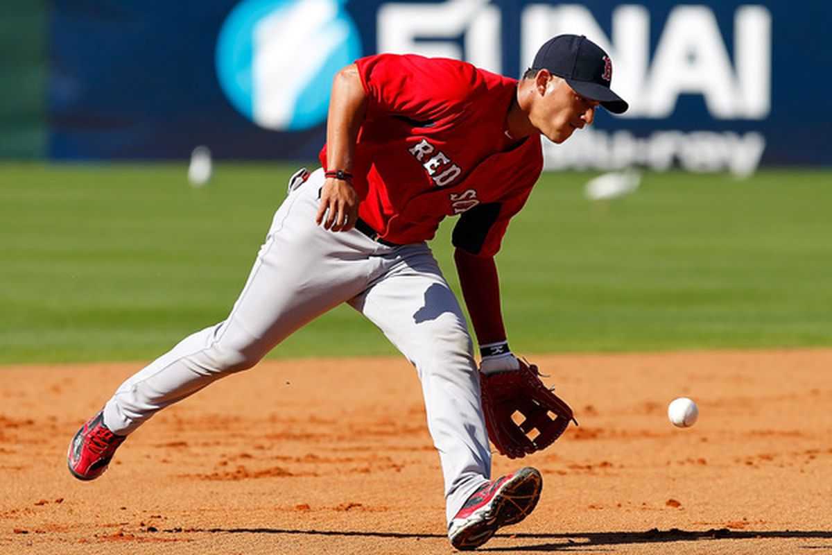 Infielder Jose Iglesias of the Boston Red Sox (Photo by J. Meric/Getty Images)