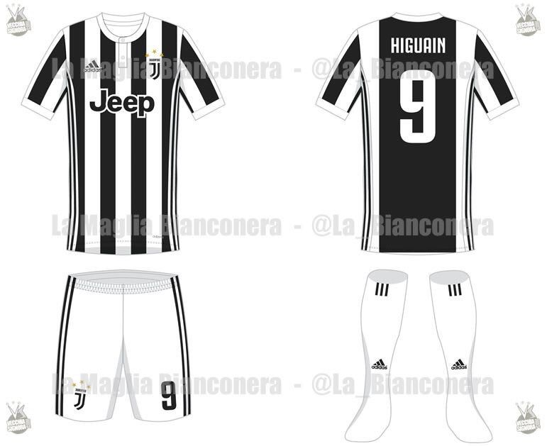 new concept 381e4 9f1ef The first round of leaked Juventus kits for the 2017-18 ...