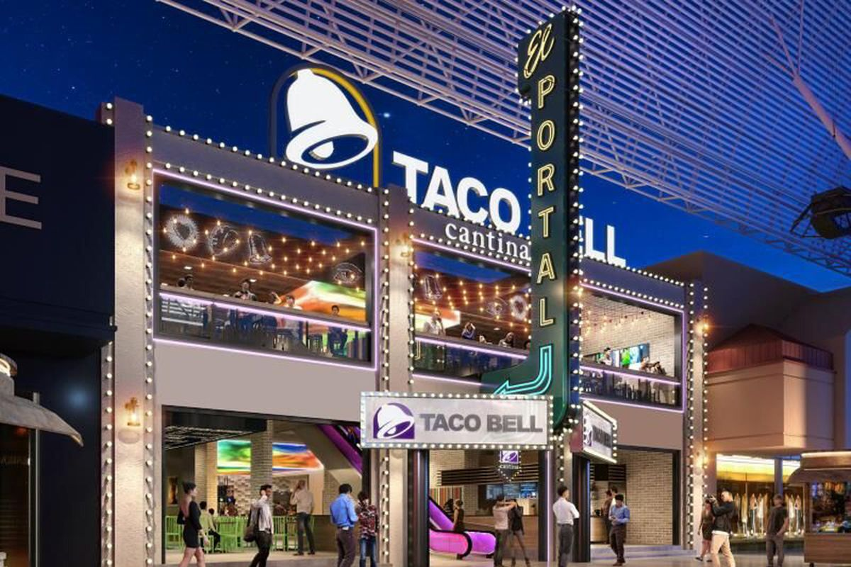 Taco Bell Open Christmas.Taco Bell Cantina Opens In Downtown Las Vegas In 2019