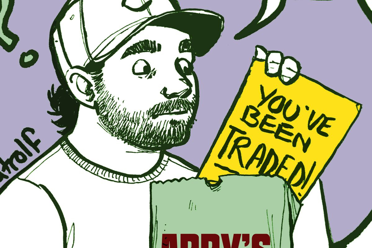 Fatrolf's Sunday Sketches: Tanner Roark Loves Arby's Edition