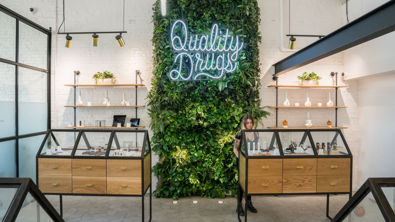 Marijuana dispensary goes minimalist in Portland - Curbed