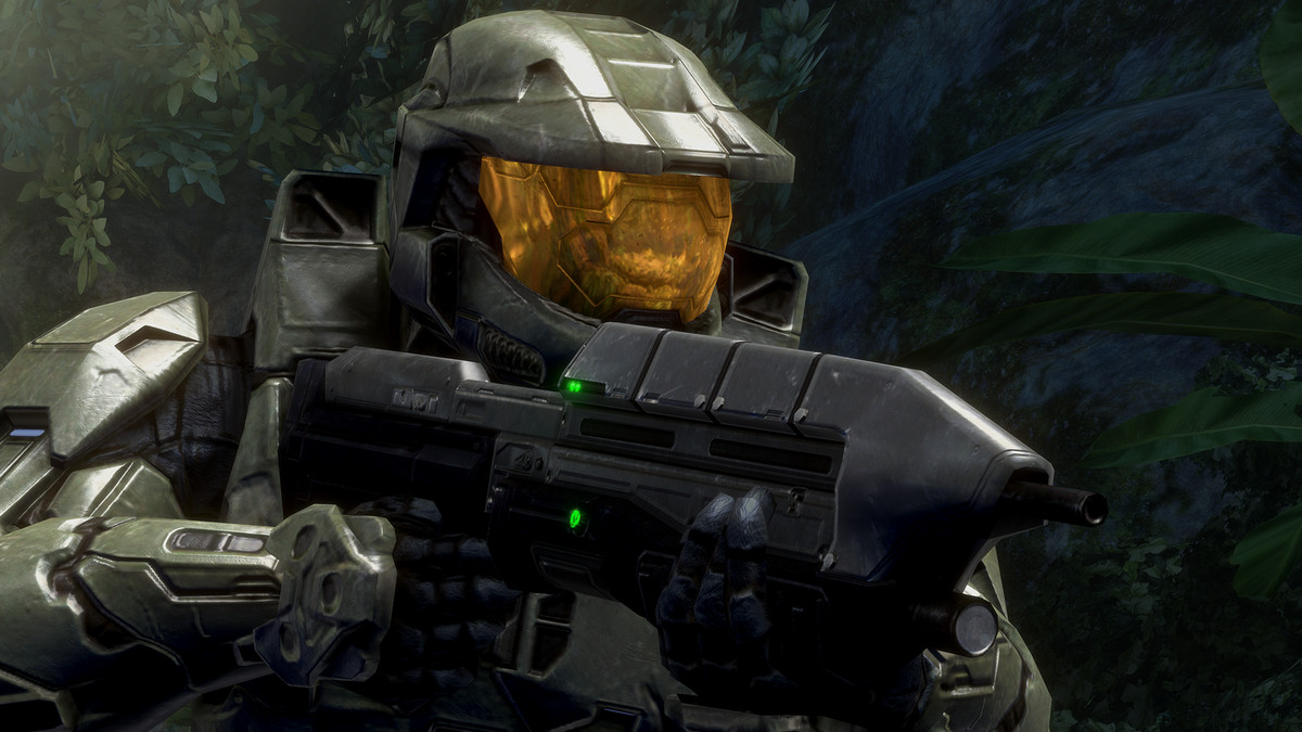 close up of master chief