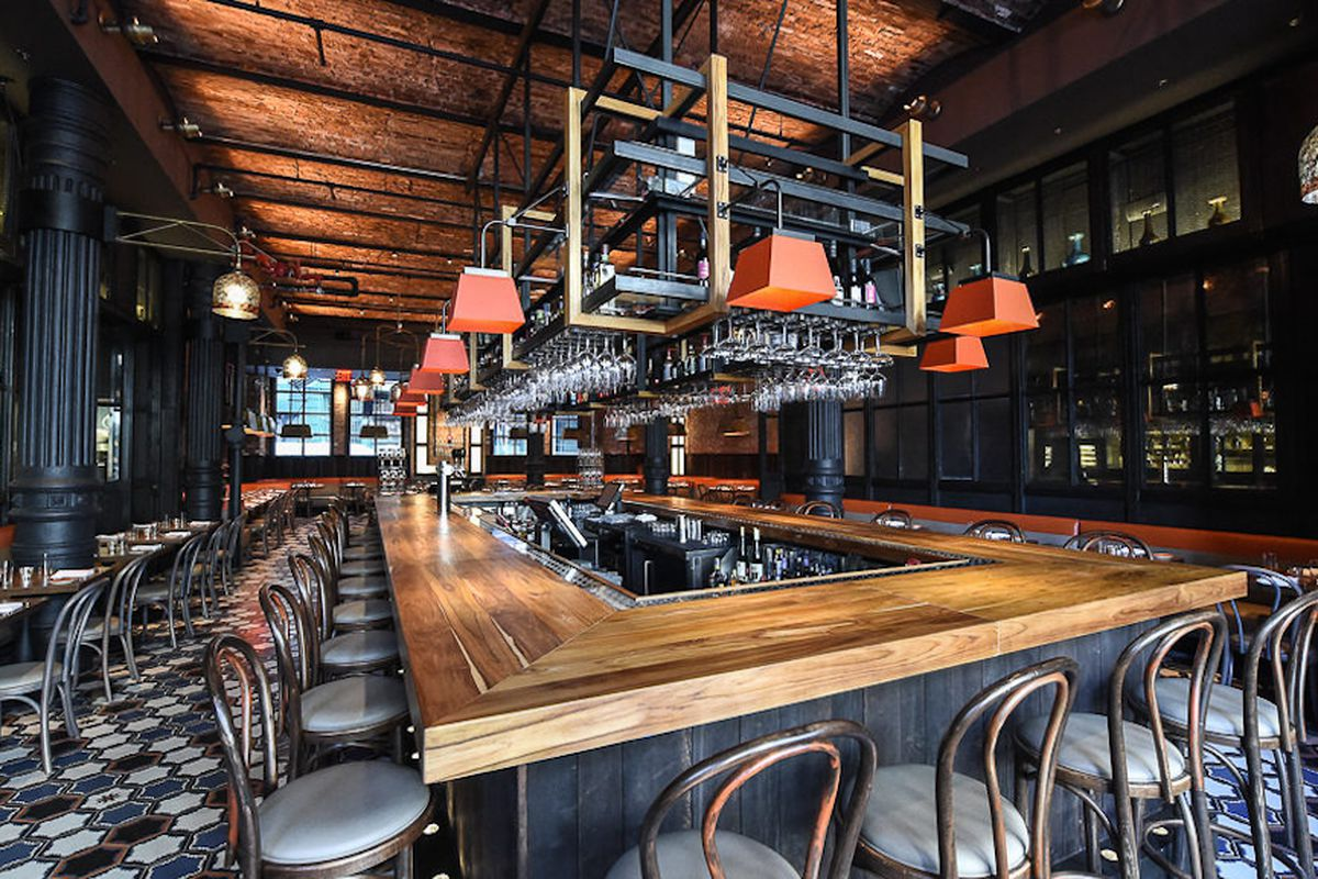 Here 39 s bobby flay 39 s new nyc restaurant gato eater for Top 10 interior design firms nyc
