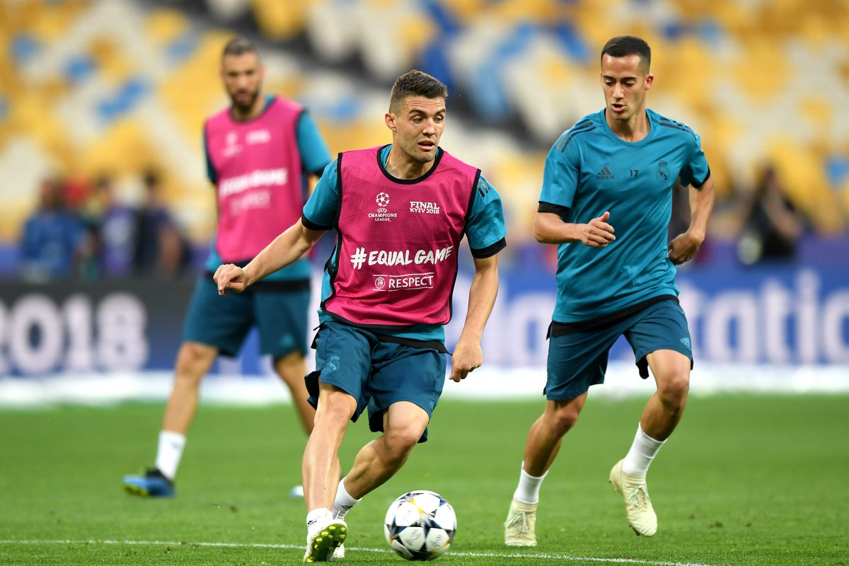 Real Madrid Training Session - UEFA Champions League Final Previews