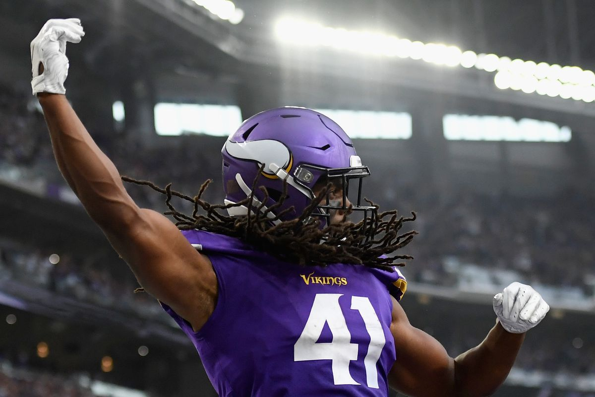 reputable site fc233 40339 S Anthony Harris Named NFC Defensive Player Of The Week ...