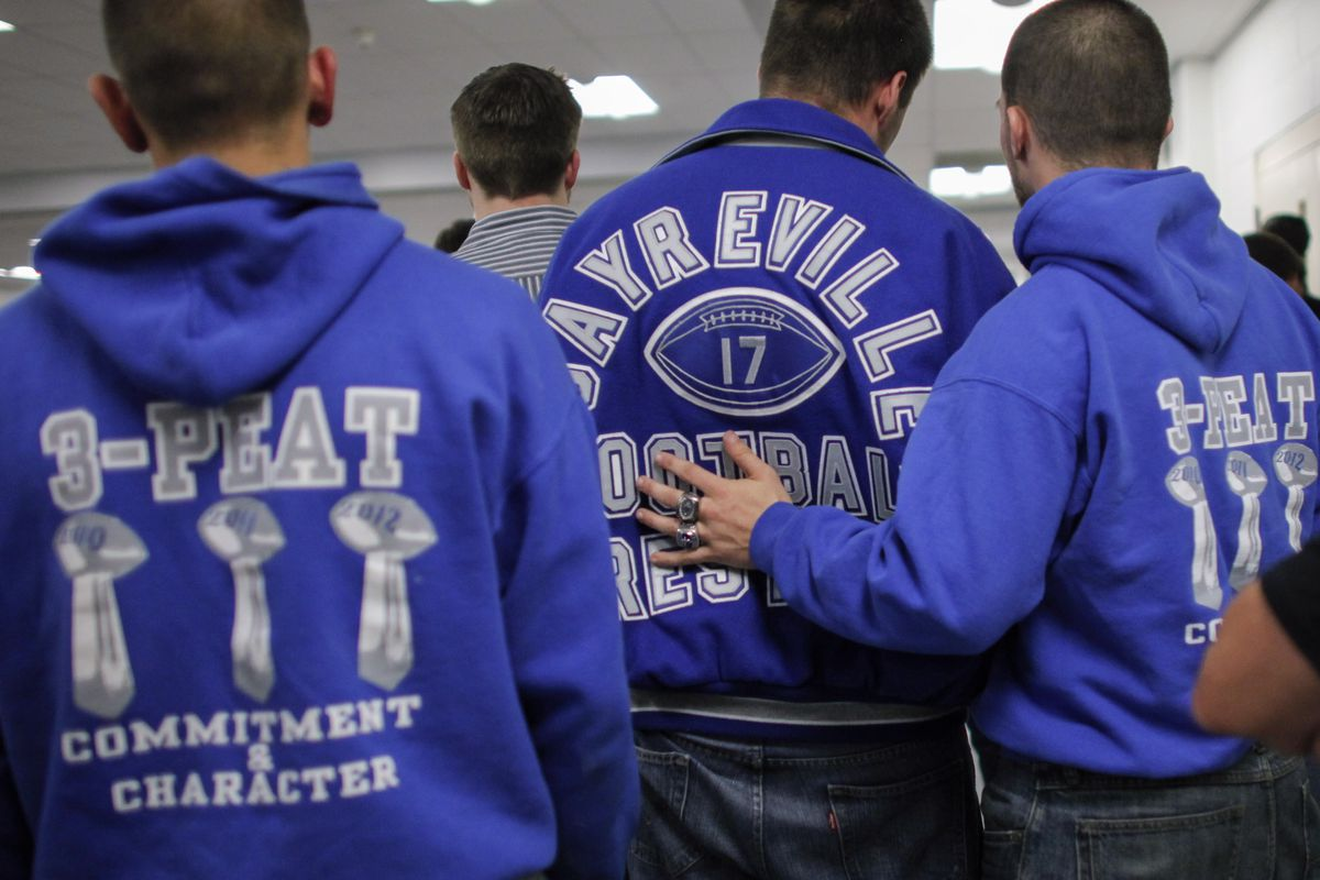 The Sayreville, N.J., football team has been embroiled in a hazing scandal.
