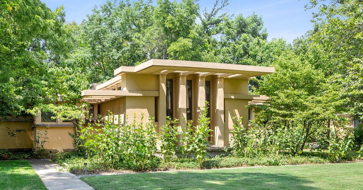 8 Frank Lloyd Wright houses for sale right now