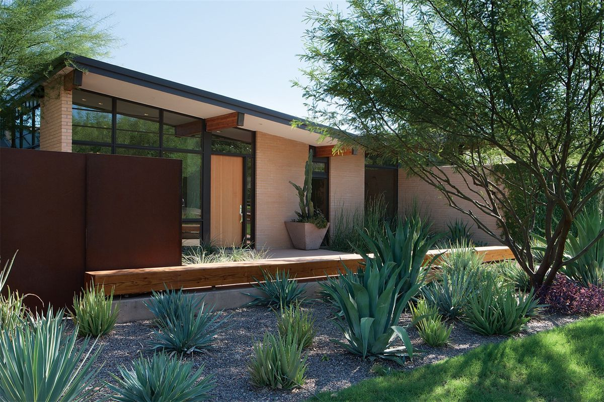 The home was built in 1962 and renovated and expanded in 2014 photos via sothebys international realty