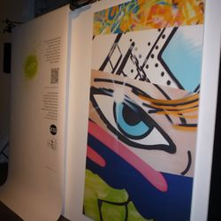 This original piece by Crash was on auction to benefit ACRIA (AIDS Community Research Initiative of America)