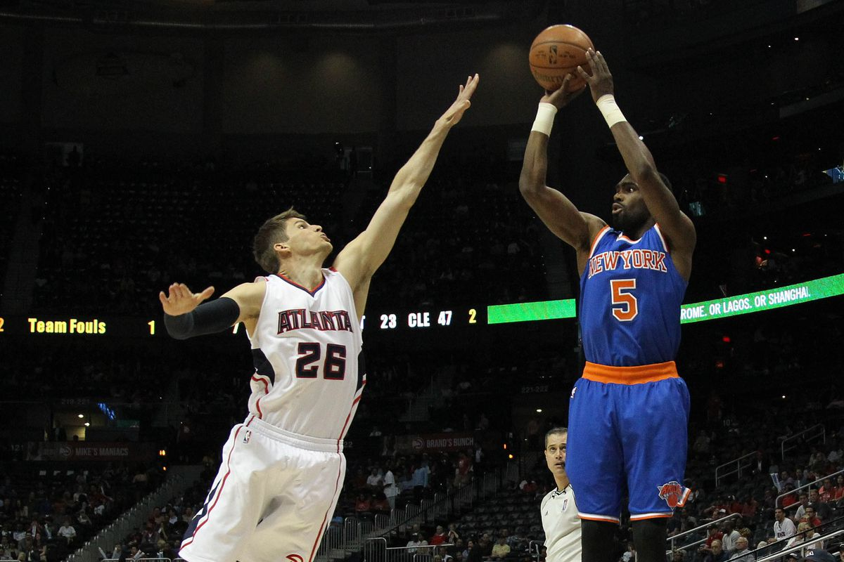 Tim Hardaway, Jr and Kyle Korver will soon play alongside each other at the wing spots for the Hawks.