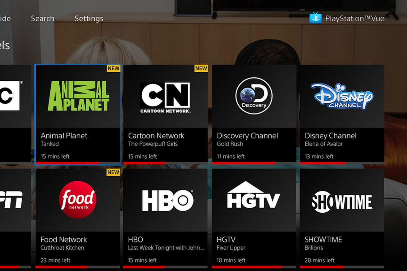 playstation vue is now integrated with apple s tv app