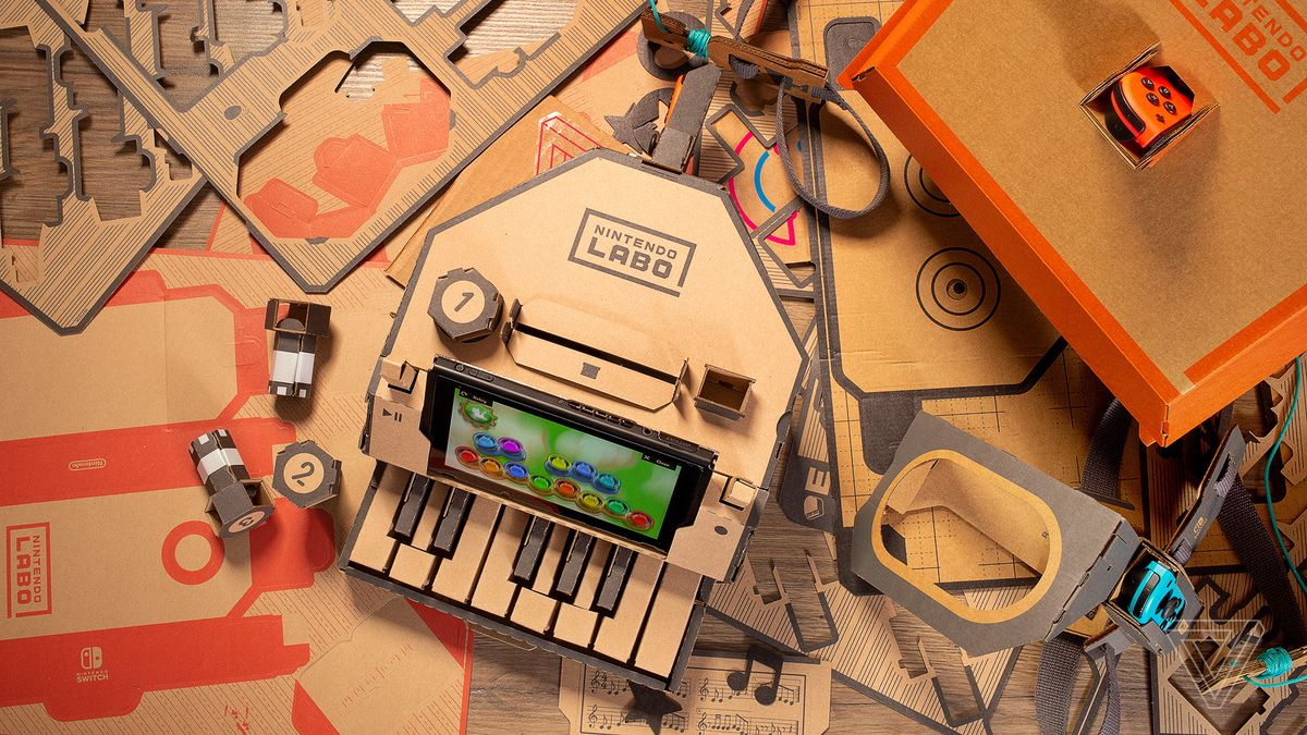 Nintendo Labo Review An Incredible Learning Tool Thats A Blast To Rc 2 Way Video Switch Play